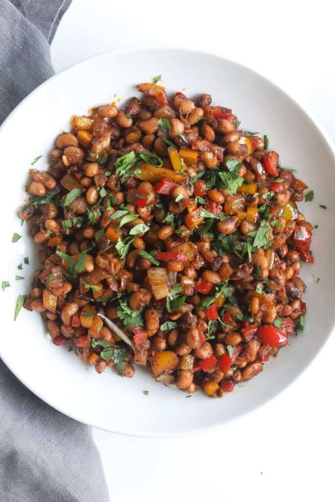 Quick And Tasty Pan Fried Black Eyed Peas Food Fidelity