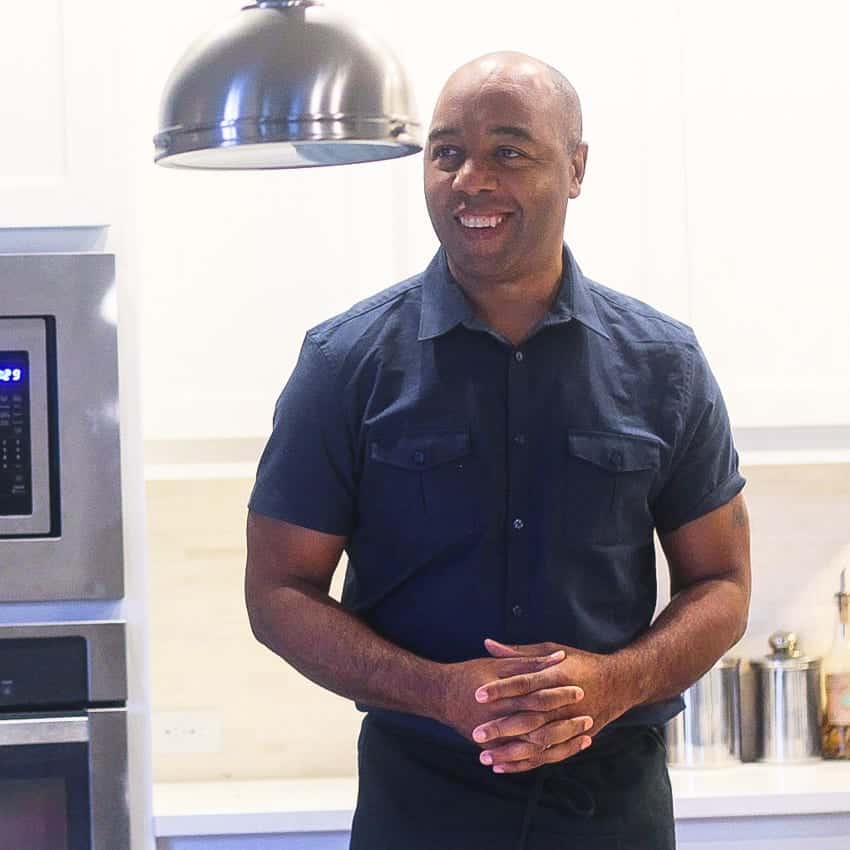 Marwin Brown developer of modern soul food recipes
