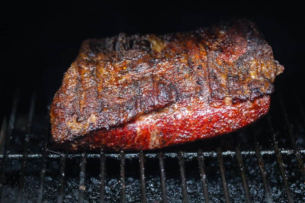 brisket on the grill